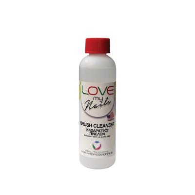Love my Nails Brush Cleanser – Καθαριστικό Πινέλων – 250ml